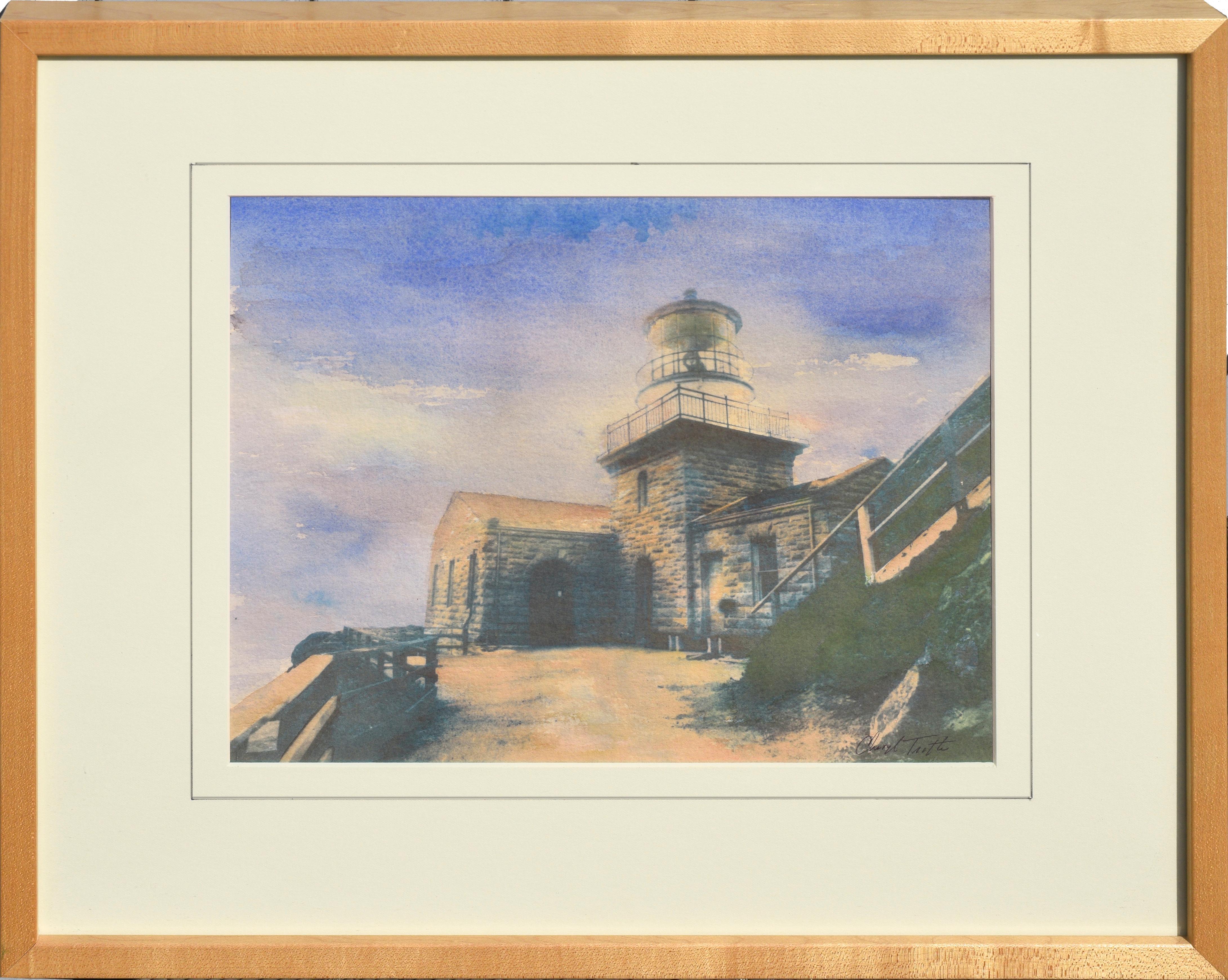 Point Sur Light House - Big Sur, California Landscape