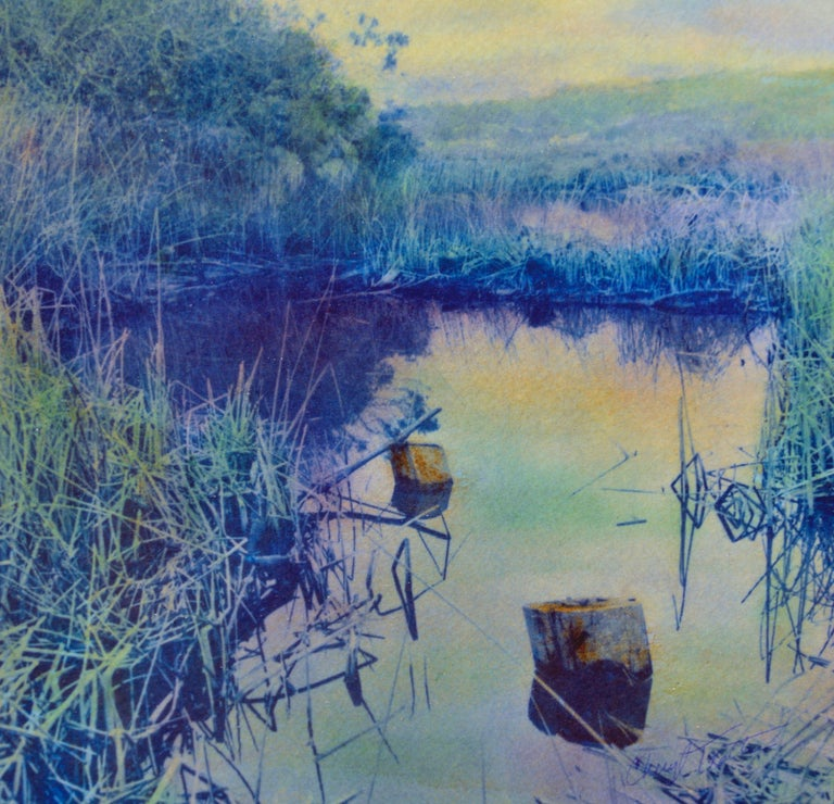 Carmel Marsh California - Art by Cheryl Trotter