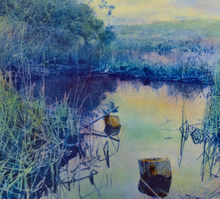 Carmel Marsh California - Impressionist Art by Cheryl Trotter
