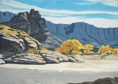 Desert River Bend Landscape