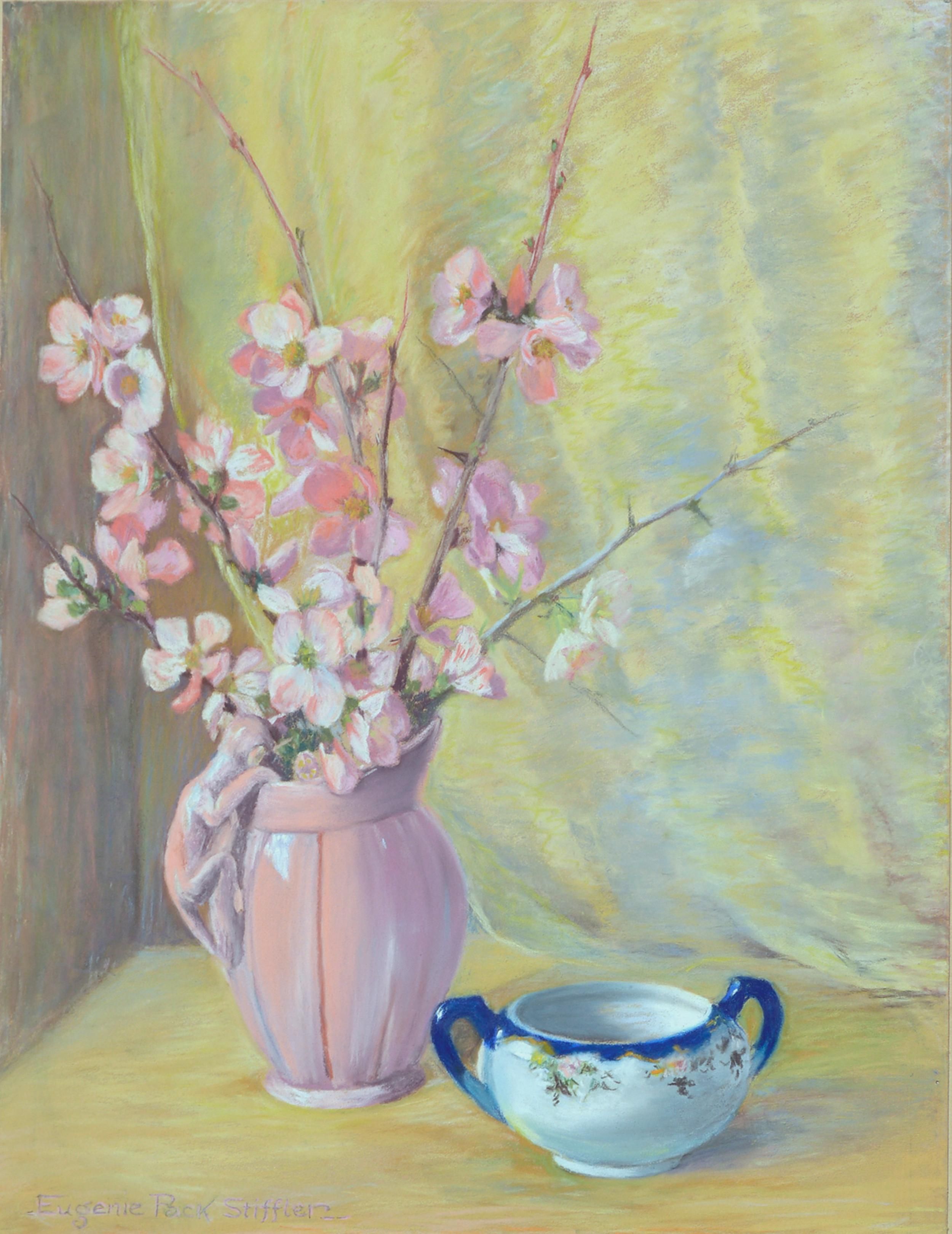 A Breath of Spring - Mid Century Floral Still Life
