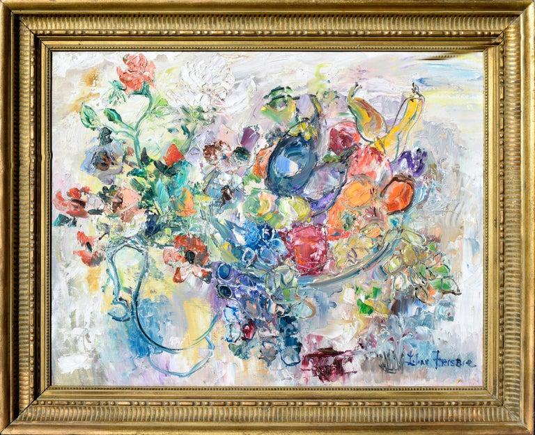Lilian Whitteker  Still-Life Painting - Table Still Life by Lilian Whitteker