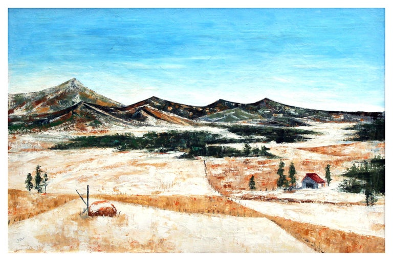 Stanton Englehart Mid Century Colorado Country Landscape