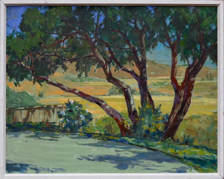 Mary Melody Meese Landscape Painting - California Rural Road