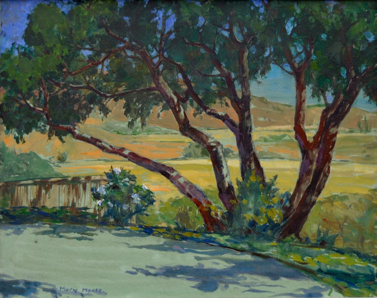 California Rural Road - Painting by Mary Melody Meese