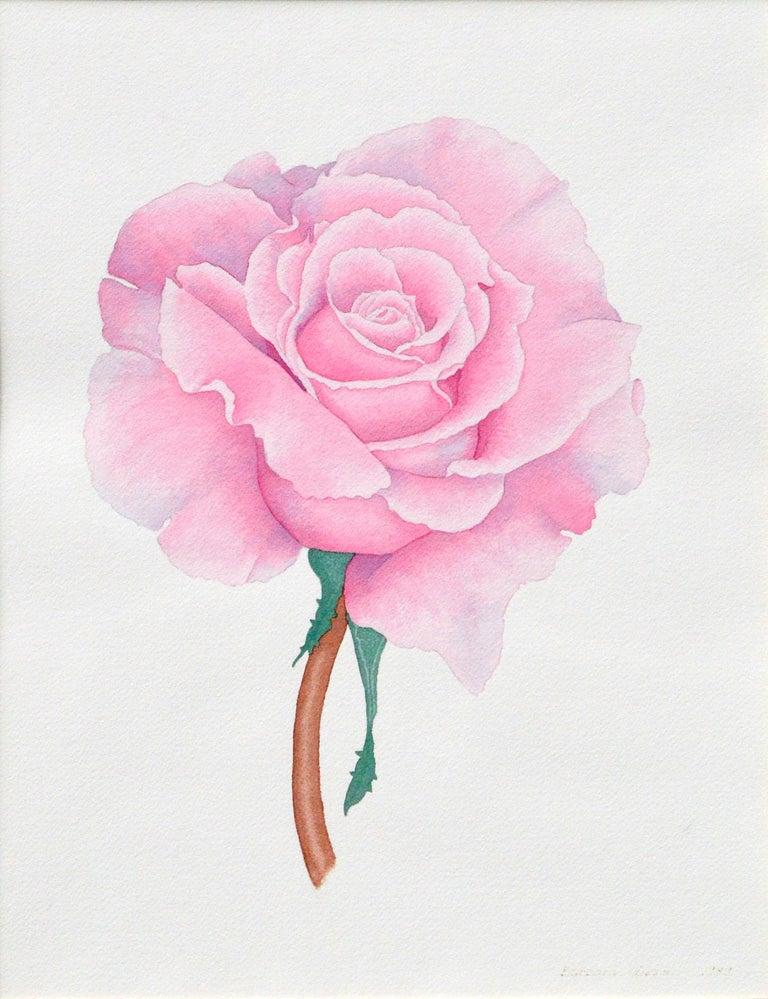 Pink Rose - Art by Barbara Gibson