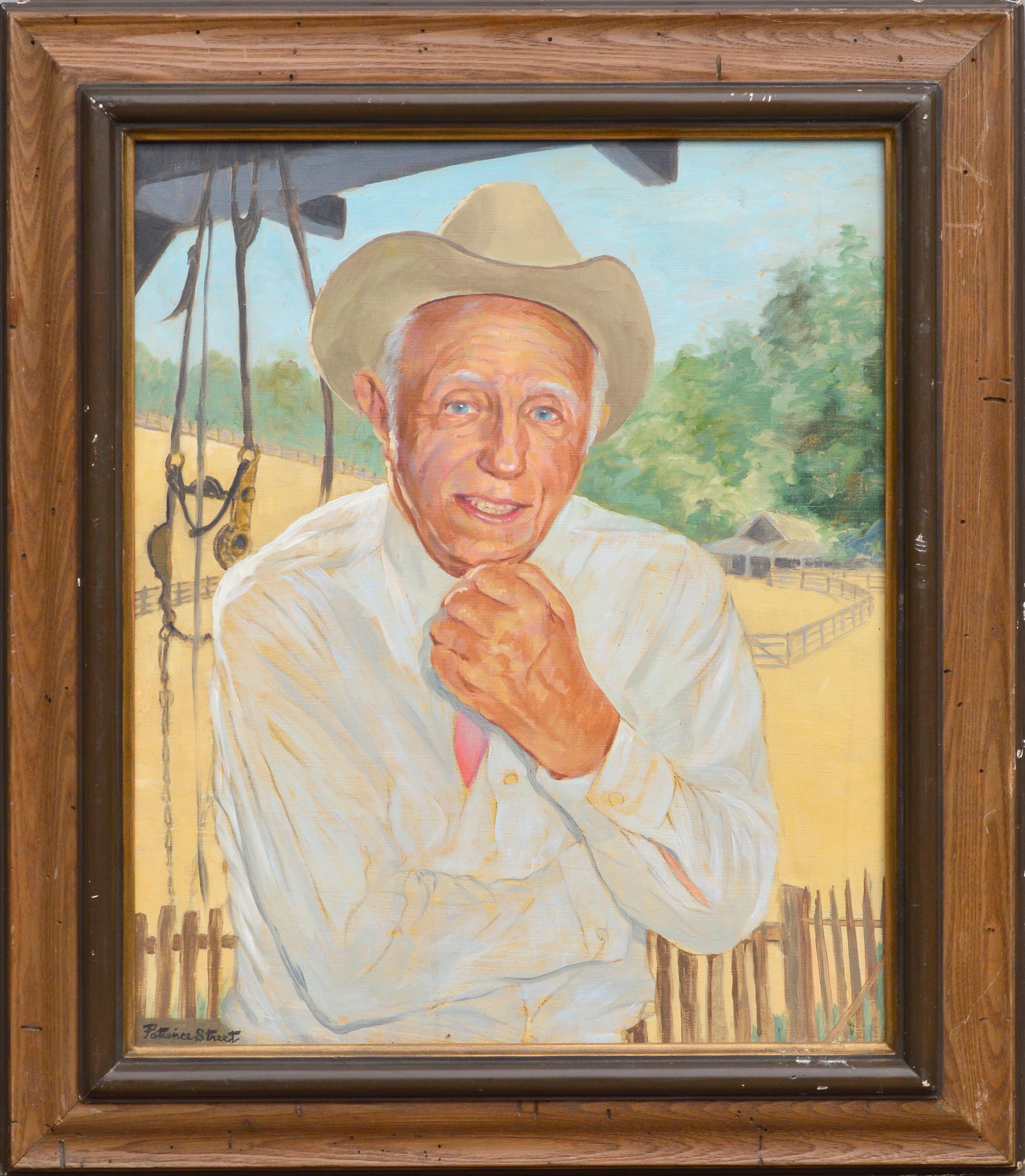 """Portrait of a Rancher """"Pete"""""""