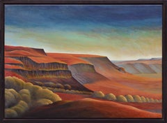 """""""Old Moses"""" New Mexico Landscape"""