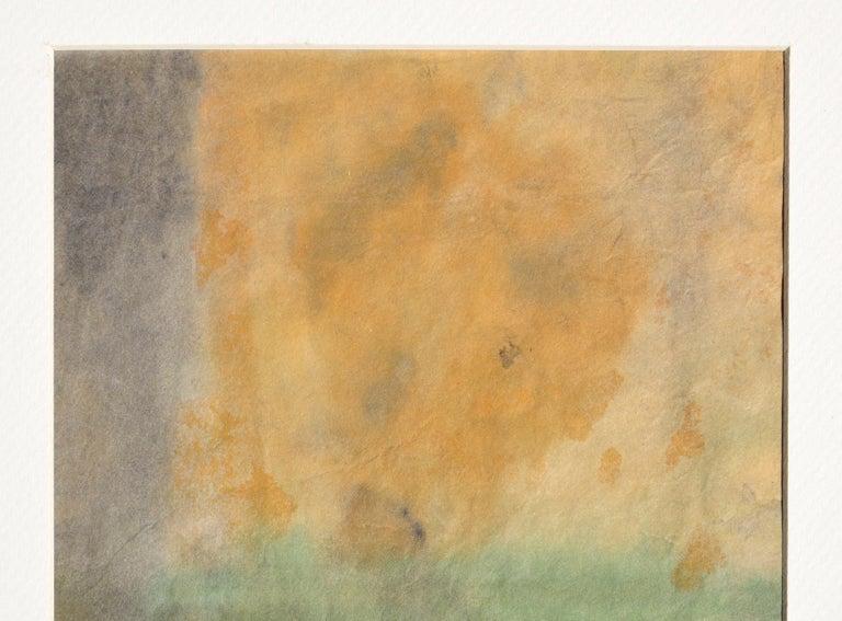 Mid Century Abstract Vertical Sunset  - Art by Irene Pattinson
