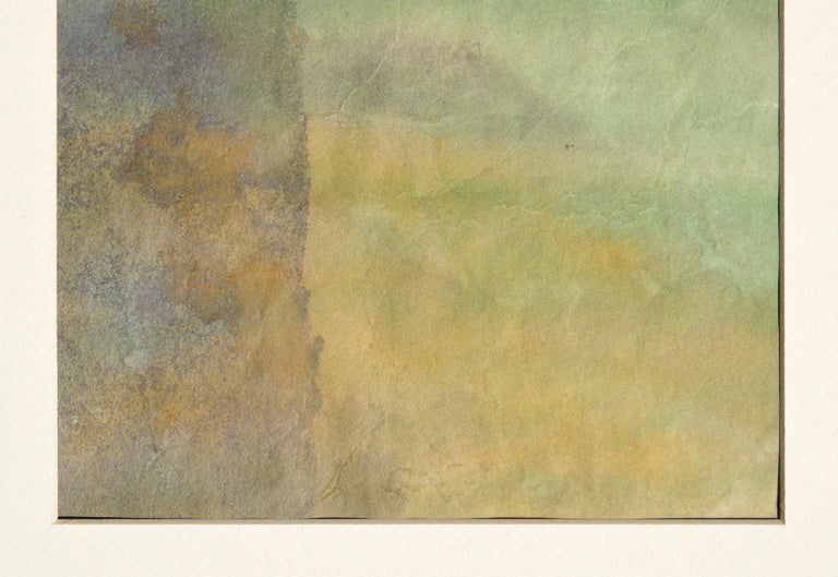 Mid Century Abstract Vertical Sunset  - Abstract Expressionist Art by Irene Pattinson