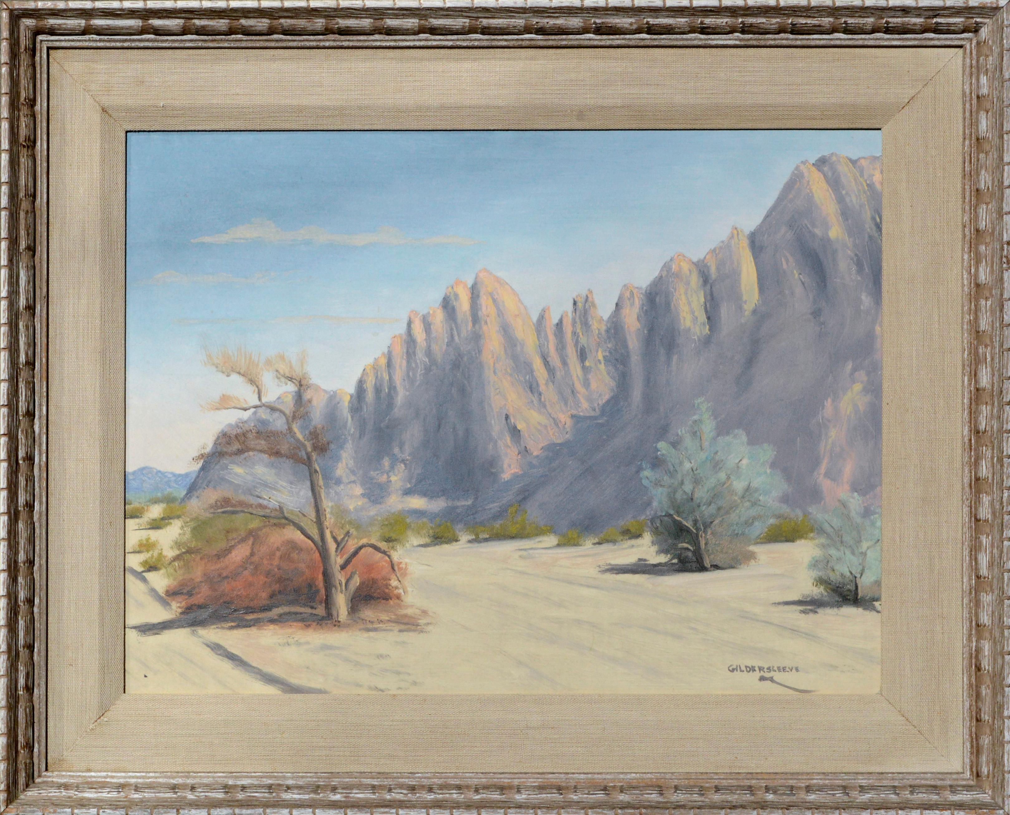 Early 20th Century Mountains and the Desert Landscape
