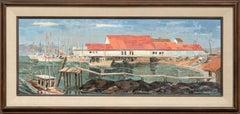 """Bodega Bay Wharf"" Seascape"