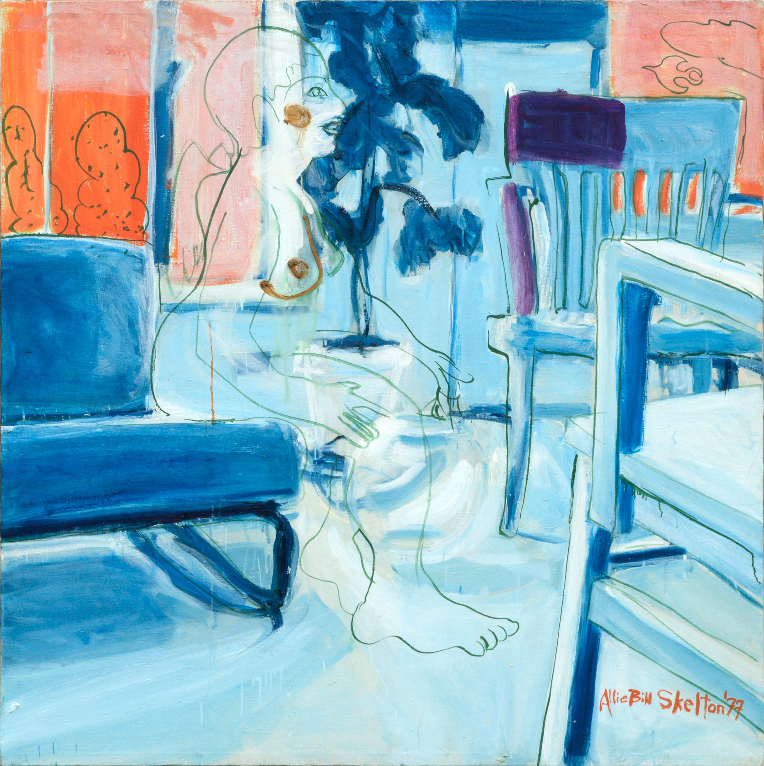 Angel in the Sitting Room - Bay Area Figurative Movement