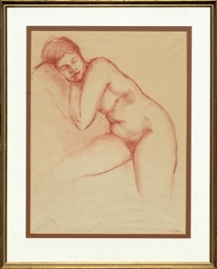 Sleeping Nude Figurative