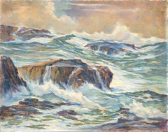 """""""The Coming Storm"""" Seascape"""