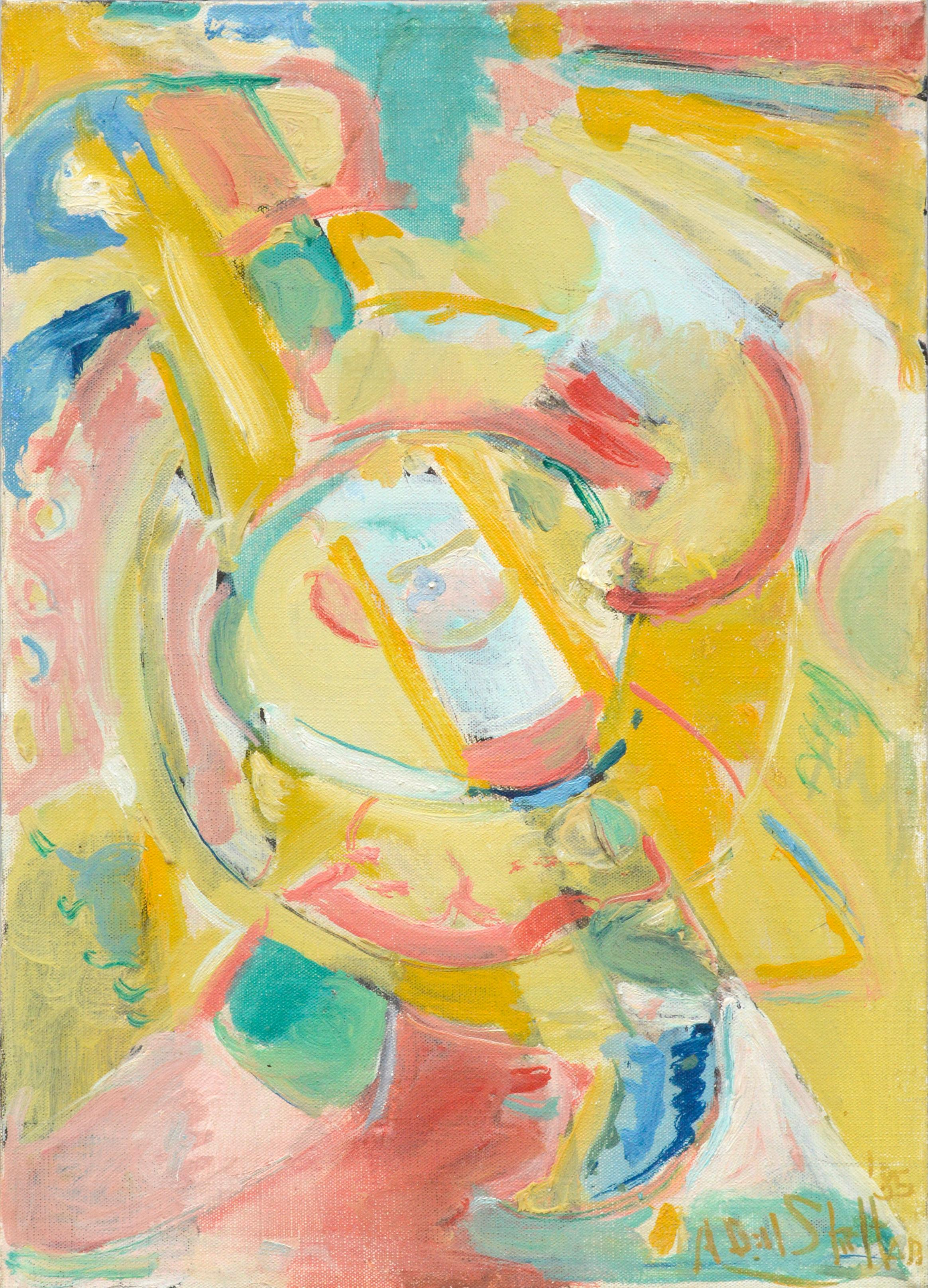 Carnival Abstract Expressionist Composition