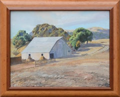 Barn and Oak Grove Landscape