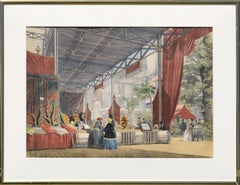 "Scene from ""Great Exhibition of 1851"" London"