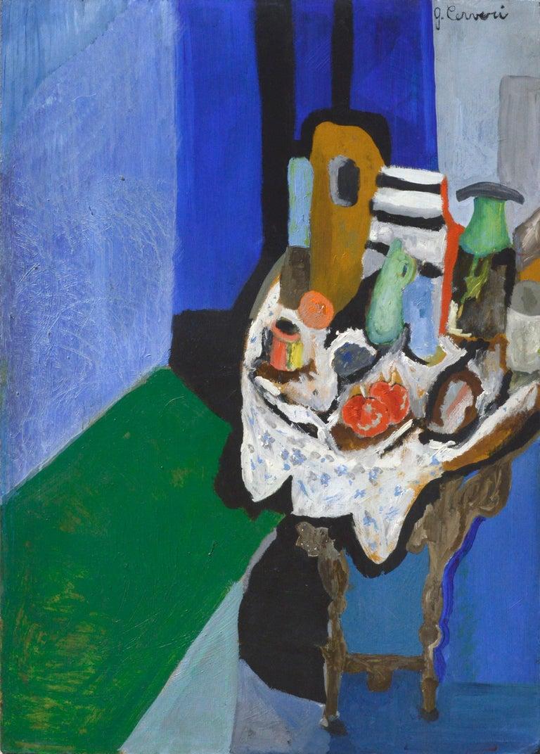 G. Cerveri Still-Life Painting - Expressionist Still Life