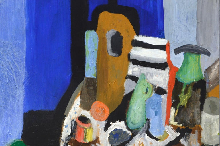 Expressionist Still Life - Painting by G. Cerveri