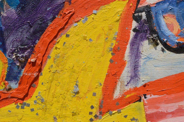 REVOLUTION, Large Scale Mixed Media Abstract Expressionist, San Francisco 1970s For Sale 1