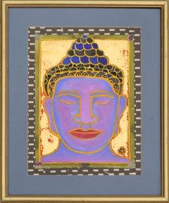"""Head of the Buddha #4"" Portrait of Bodhisattva"