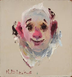 Clown with a Pink Ear (Portrait #3)