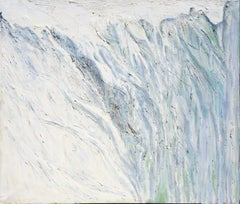 Glacier Abstract Expressionist Landscape