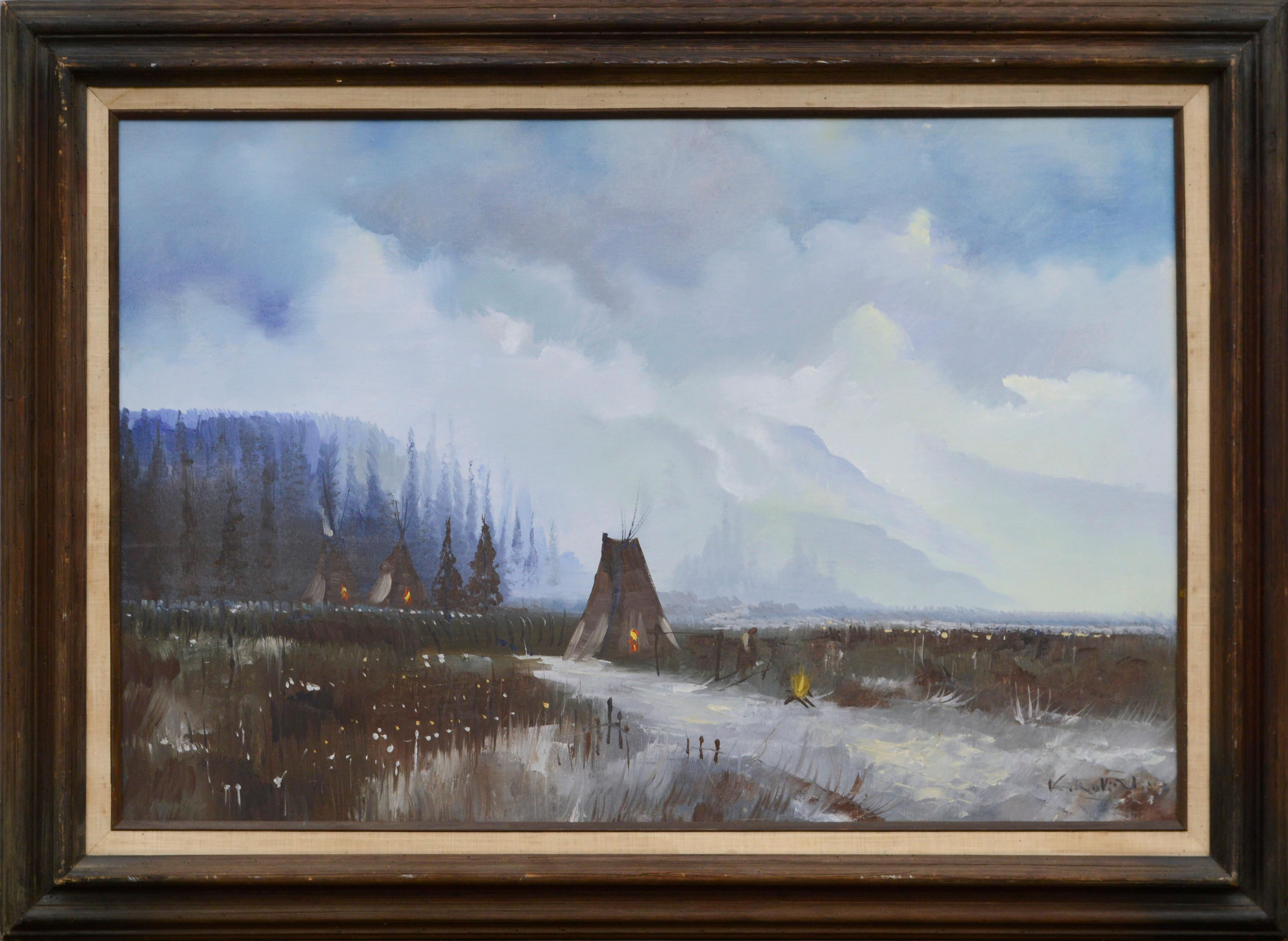 Yosemite Valley -- Native American Camp