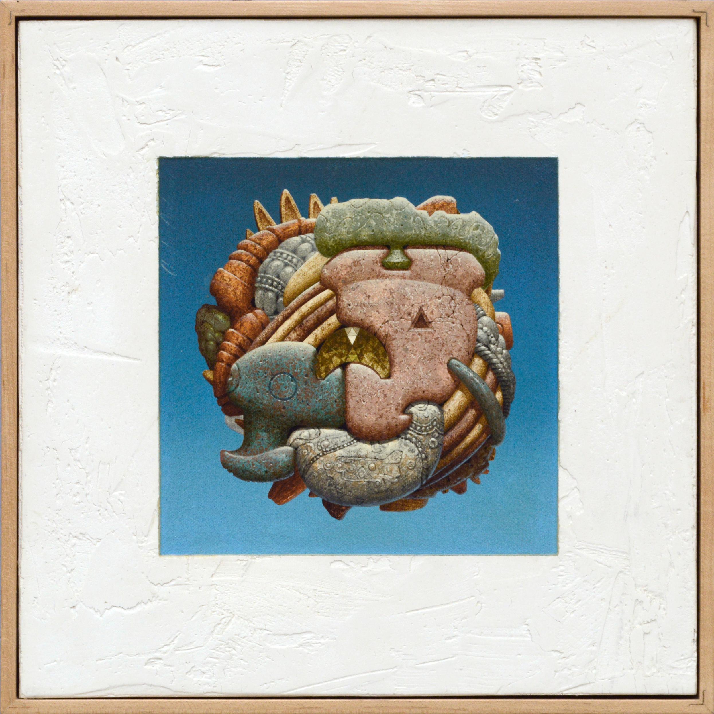 Surrealist Composition - Precious Stones