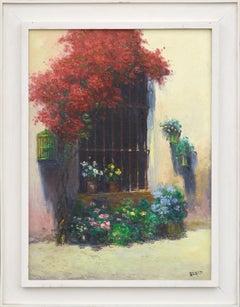 """Ventana"" - Flowers Around a Window"