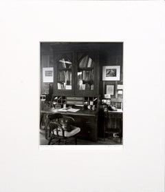 Edward Weston's Desk Black and White Photograph Wild Cat Hill by Kim Weston
