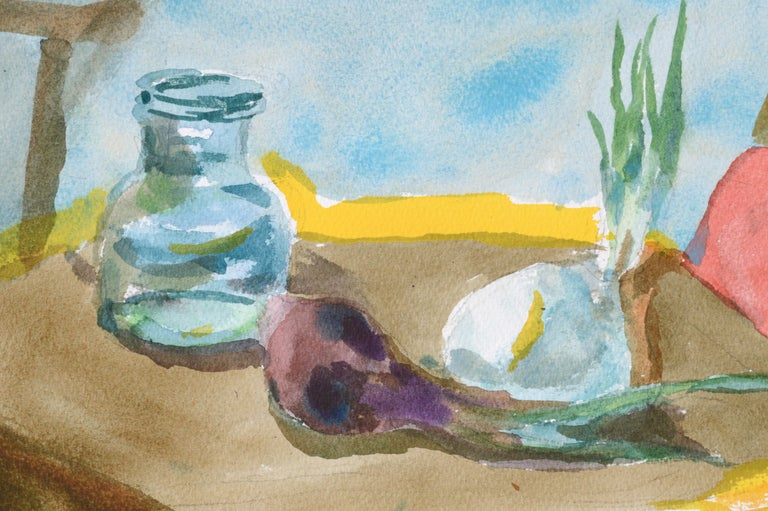 Still Life with Onions and Pitcher For Sale 1