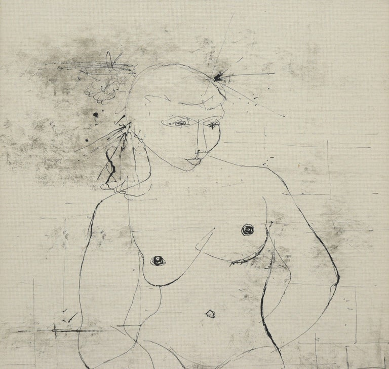 Seated Nude 1949 For Sale 2