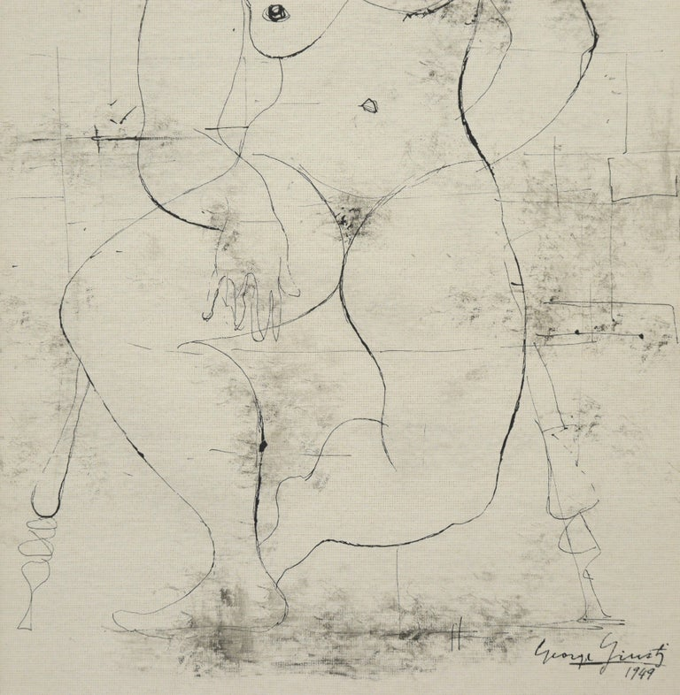 Seated Nude 1949 For Sale 3