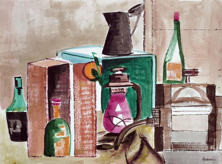 Diane Baldwin Still-Life Painting - Country Kitchen Still Life