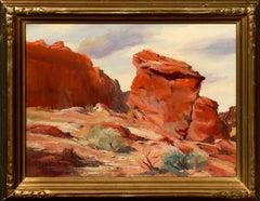 Desert Red Rocks Landscape