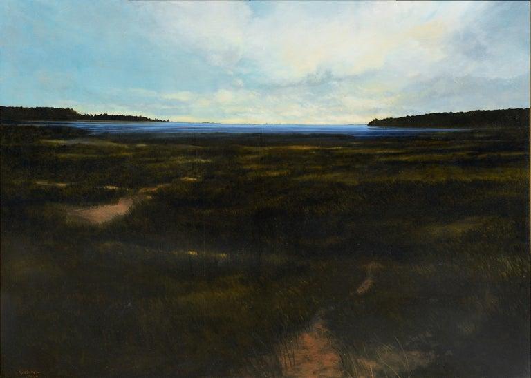 Jamestown Marsh II Landscape For Sale 1