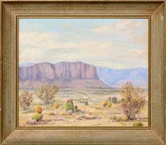 Desert Mesa Landscape