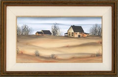 Sandy Hook Farmhouse Landscape