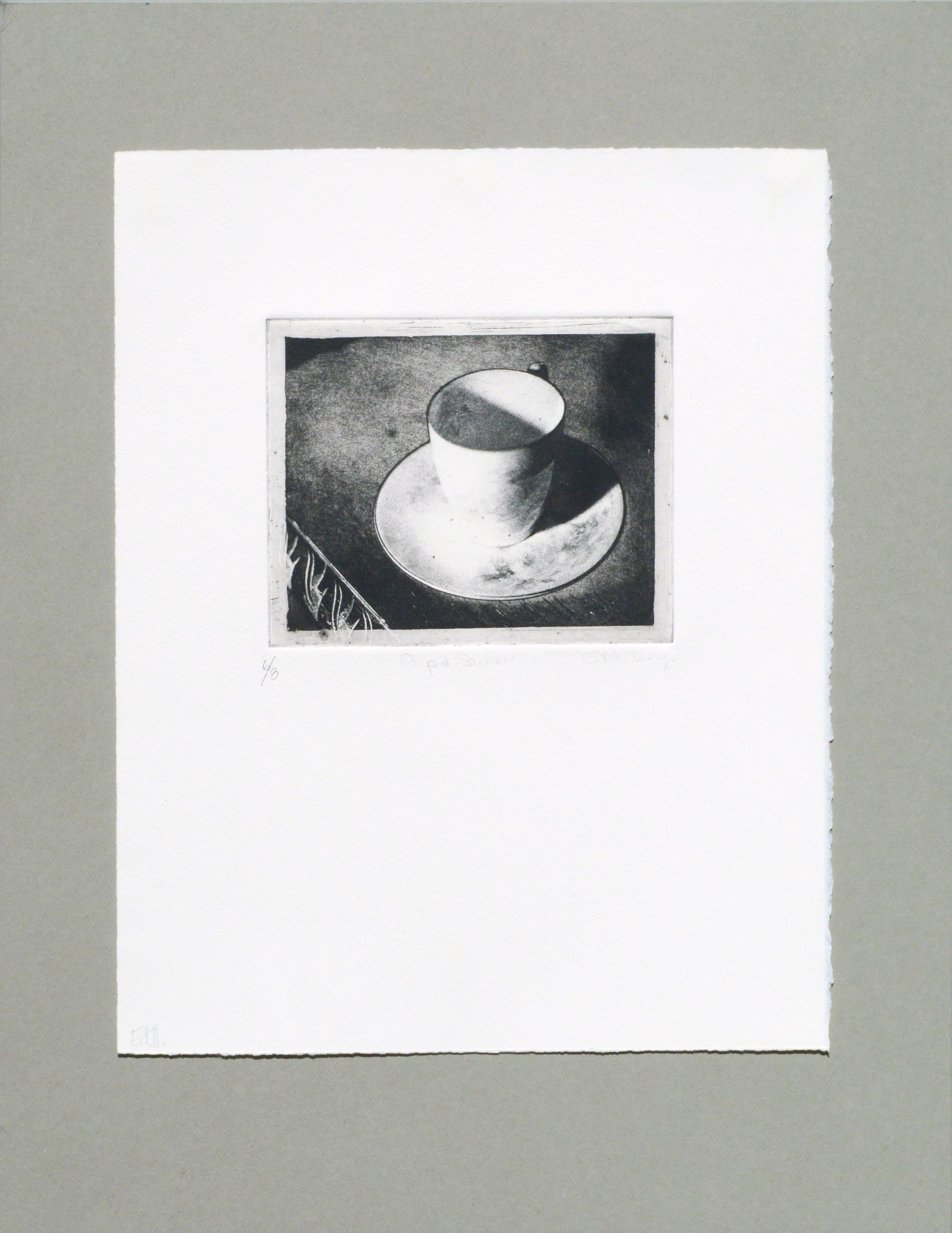 Cup & Saucer (Grandmother's Artifacts) - Photo Etching