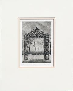 """de poort"" Lithograph"