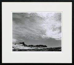 Mt Lyell Clouds, Yosemite - Black & White Landscape Photograph