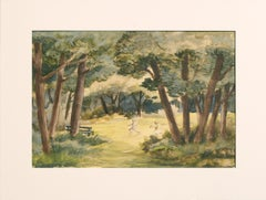 Playing in the Park - Landscape
