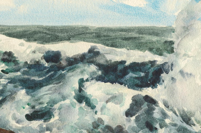 Bass Rocks in Cape Ann, Massachusetts - Seascape For Sale 3