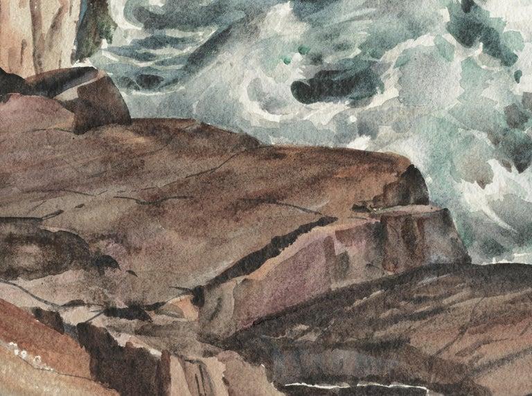 Bass Rocks in Cape Ann, Massachusetts - Seascape For Sale 4