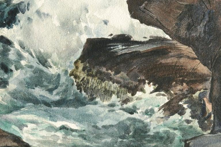 Bass Rocks in Cape Ann, Massachusetts - Seascape For Sale 5