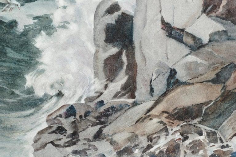 Monolith Rock - Monterey, California Seascape For Sale 4