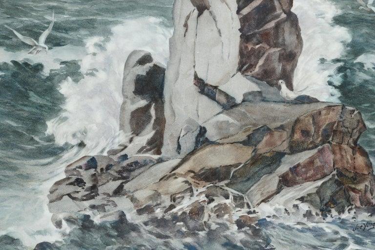 Monolith Rock - Monterey, California Seascape For Sale 3