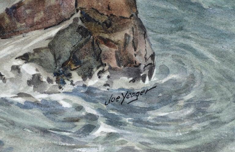 Monolith Rock - Monterey, California Seascape For Sale 5